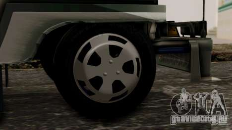 Milwaukee Motors Custom Jeepney для GTA San Andreas вид сзади слева