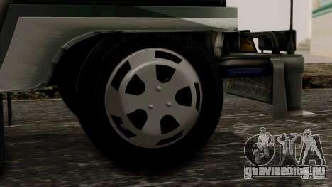 Milwaukee Motors Custom Jeepney для GTA San Andreas вид сзади слева
