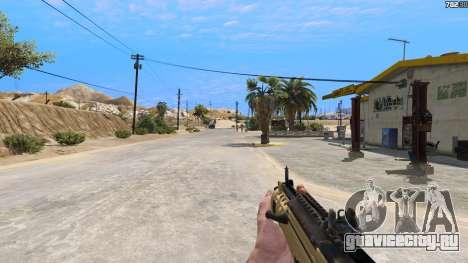 TAR-21 из Battlefield 4 для GTA 5 пятый скриншот