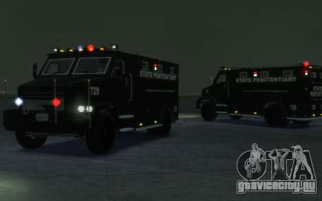 International 4000-Series SWAT Van для GTA 4 вид слева