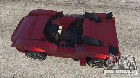 LEGO Car для GTA 5