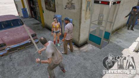 Меч Экскалибур для GTA 5 четвертый скриншот