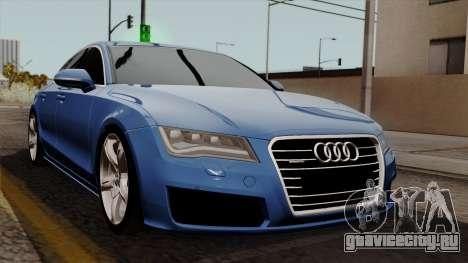 Audi A7 Sportback 2009 для GTA San Andreas