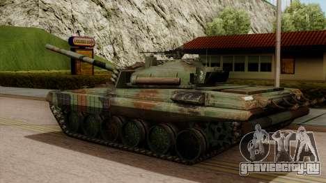 PT-91A Twardy для GTA San Andreas вид слева