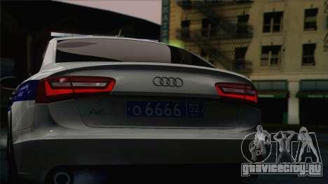 Audi A6 ДПС для GTA San Andreas вид справа