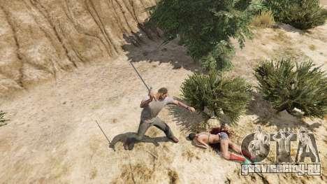 Меч Экскалибур для GTA 5 пятый скриншот