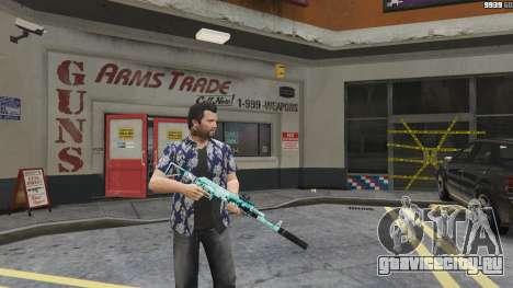 Штурмовая винтовка Аниме для GTA 5 второй скриншот