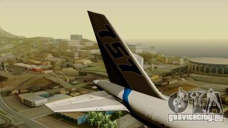 Boeing 757-200 Eastern Air Lines для GTA San Andreas вид сзади слева