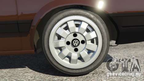 Volkswagen Gol GL 1.8 для GTA 5 вид сзади справа