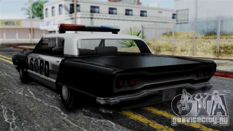 Police Savanna 2.0 для GTA San Andreas вид слева