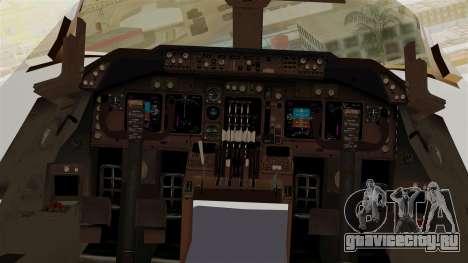 Boeing 747-200 China Airlines Dreamliner для GTA San Andreas вид сзади