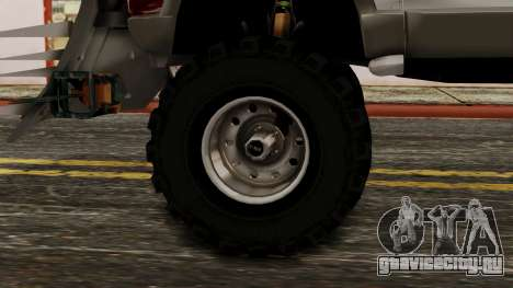 Ford Explorer Zombie Protection для GTA San Andreas вид сзади слева