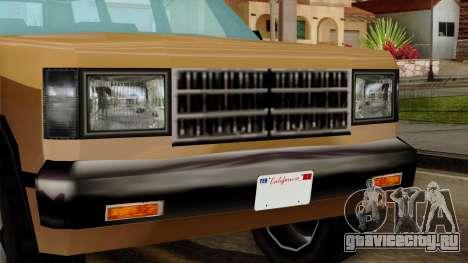 Landstalker from Vice City IVF для GTA San Andreas вид справа