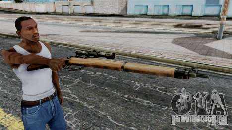 Lee-Enfield No.4 Scope from Battlefield 1942 для GTA San Andreas третий скриншот