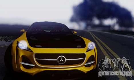 Mercedes-Benz AMG GT для GTA San Andreas вид слева