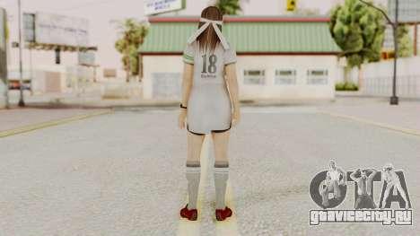 DOA 5 Hitomi Soccer для GTA San Andreas третий скриншот