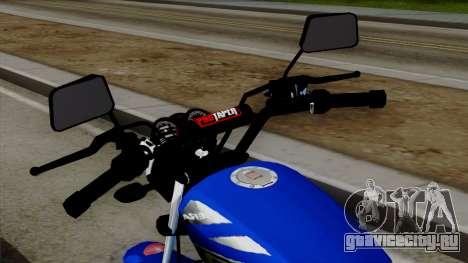 Bera Socialista 2014 для GTA San Andreas вид сзади