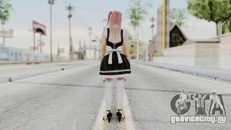 DOA 5 Honoka Maid для GTA San Andreas третий скриншот