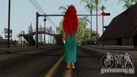 Ariel (Human Version) для GTA San Andreas третий скриншот