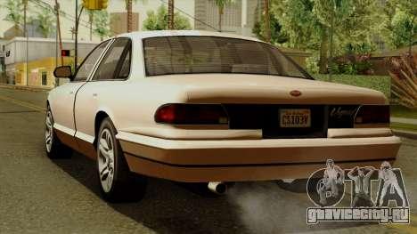 GTA 5 Vapid Stanier I для GTA San Andreas вид слева