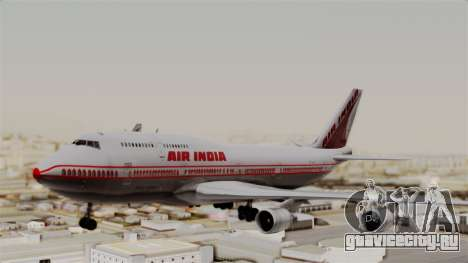 Boeing 747-400 Air India Old для GTA San Andreas