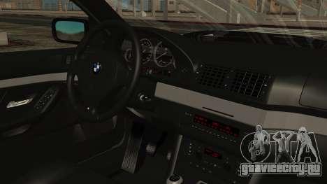 BMW 530D E39 1999 Mtech для GTA San Andreas вид справа