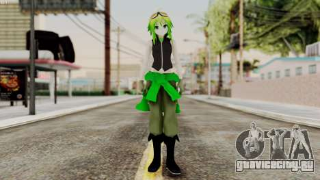 Gumi Love Is War (Vocaloid) для GTA San Andreas второй скриншот