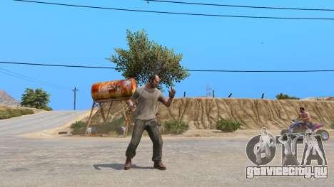Нож Рэмбо для GTA 5 третий скриншот