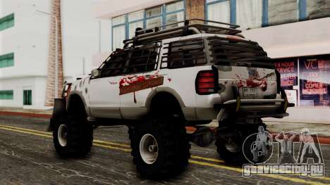 Ford Explorer Zombie Protection для GTA San Andreas вид слева