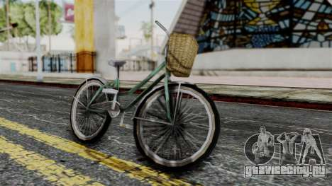 Olad Bike from Bully для GTA San Andreas