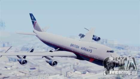 Boeing 747 British Airlines (Landor) для GTA San Andreas