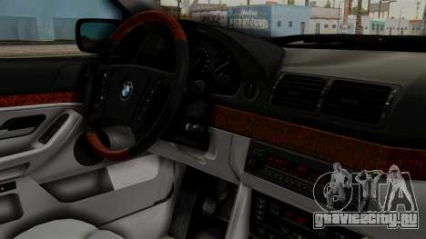 BMW 530D E39 1999 Stock для GTA San Andreas вид справа