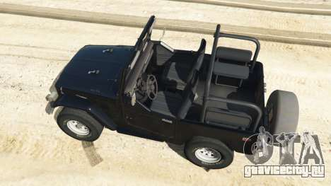 Toyota Land Cruiser (J40) 1978 [Beta 3b] для GTA 5 вид сзади