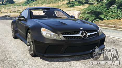 Mercedes-Benz SL 65 AMG Black Series для GTA 5