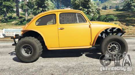 Volkswagen Beetle Baja Bug [Beta] для GTA 5 вид слева