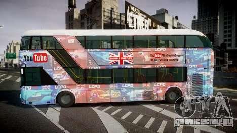 Wrightbus New Routemaster для GTA 4 вид слева