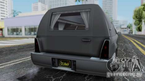 GTA 5 Albany Romero IVF для GTA San Andreas вид сзади
