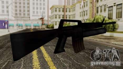 M16 from Delta Force для GTA San Andreas второй скриншот