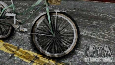Olad Bike from Bully для GTA San Andreas вид справа