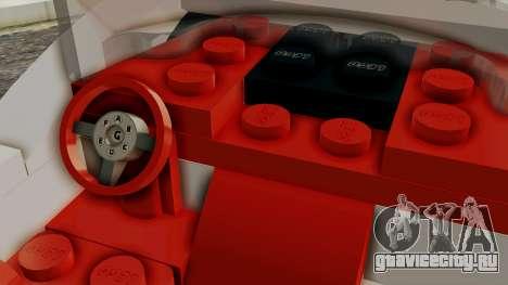 Lego Mach 5 для GTA San Andreas вид справа