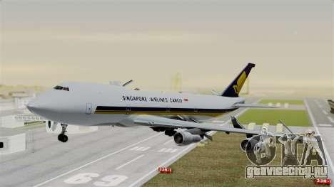 Boeing 747 Singapore Cargo для GTA San Andreas