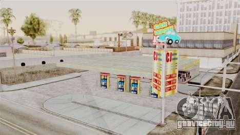 LS CJ Gas v2 для GTA San Andreas
