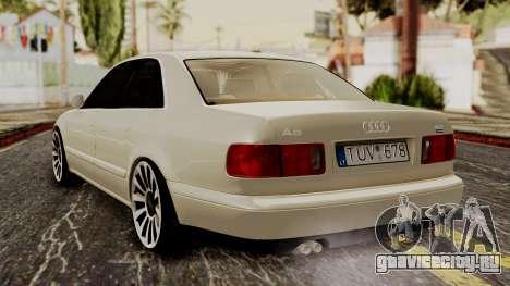 Audi A8 D2 для GTA San Andreas вид слева