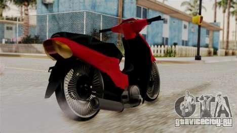 Guerrero Trip 110 Al Piso для GTA San Andreas вид слева