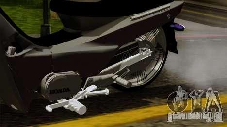 Honda Wave Tuning для GTA San Andreas вид справа