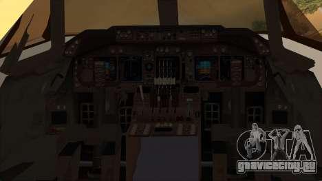 Boeing 747-100 National Airlines для GTA San Andreas вид сзади