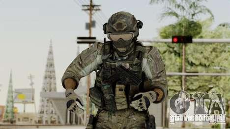 Derek Frost from CoD MW3 для GTA San Andreas