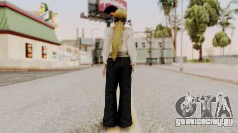 DOA 5 Helena Formal для GTA San Andreas третий скриншот