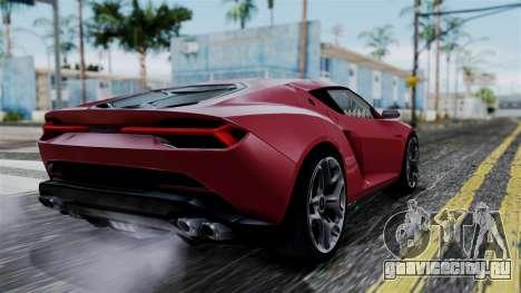 Lamborghini Asterion 2015 Concept для GTA San Andreas вид слева