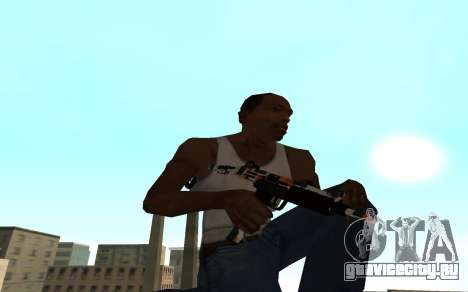 Asiimov Weapon Pack v2 для GTA San Andreas третий скриншот